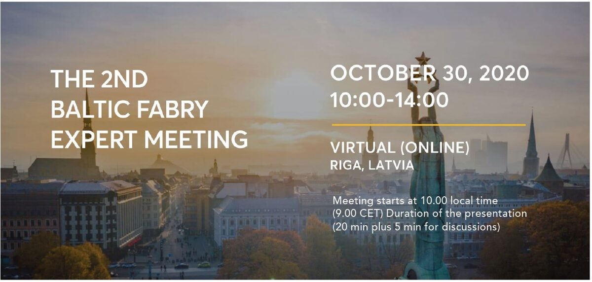 2nd Baltic Fabry Meeting